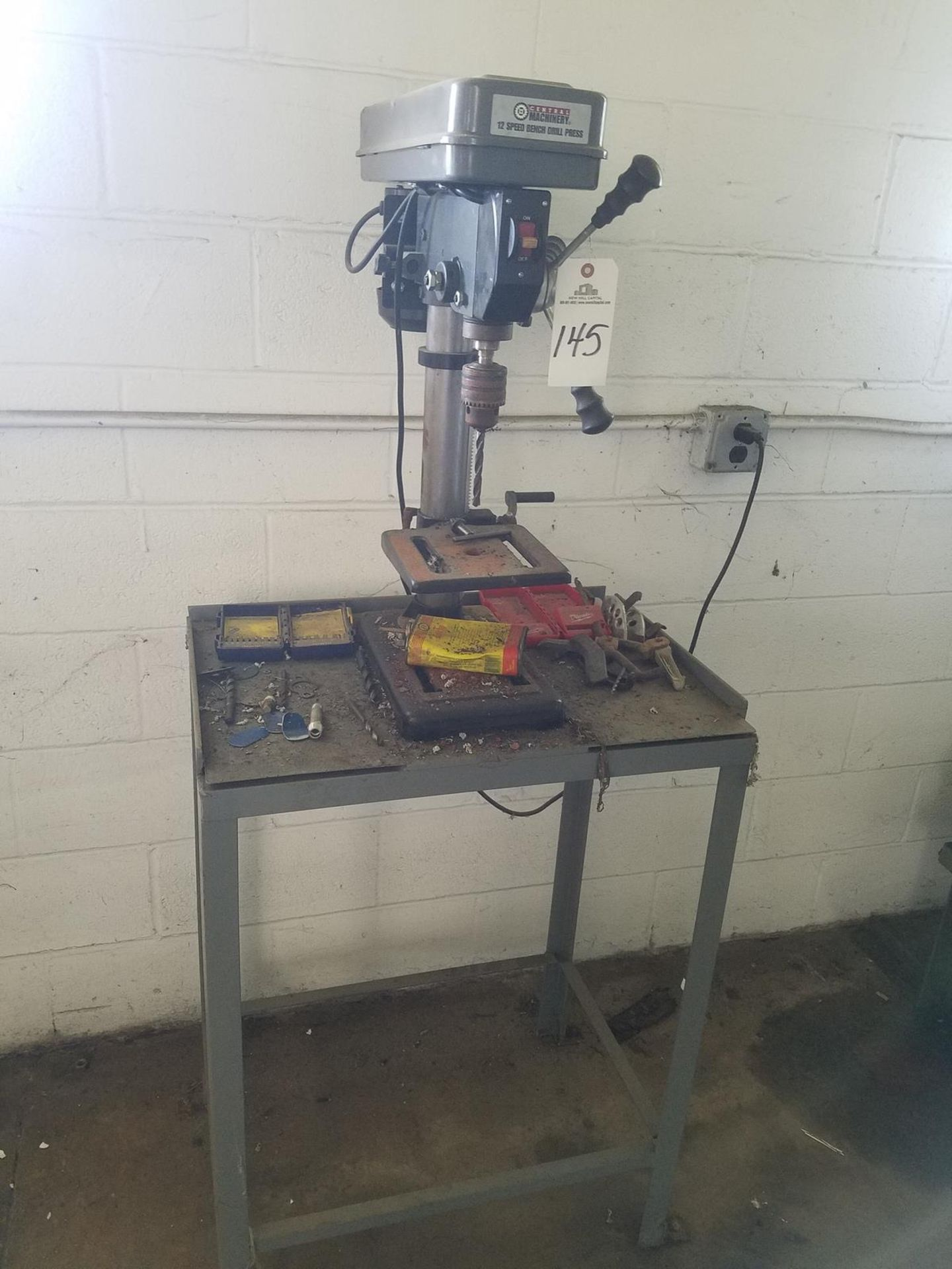 Lot 145 - Central Machinery Bench Drill Press | Rig Fee: $50