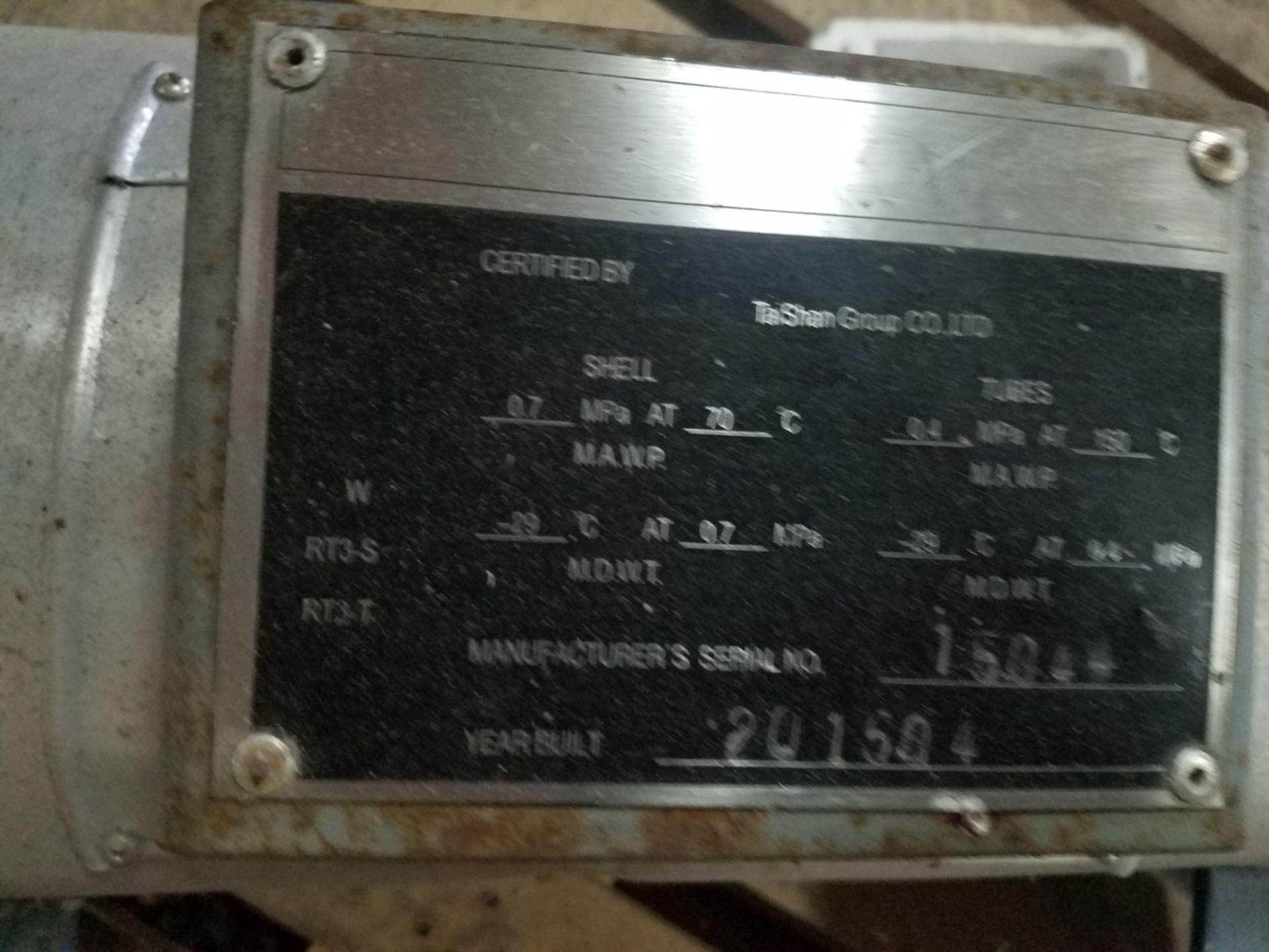 2015 Ta Shan Heat Exchanger, S/N 15044 | Rig Fee: $50 - Image 2 of 2