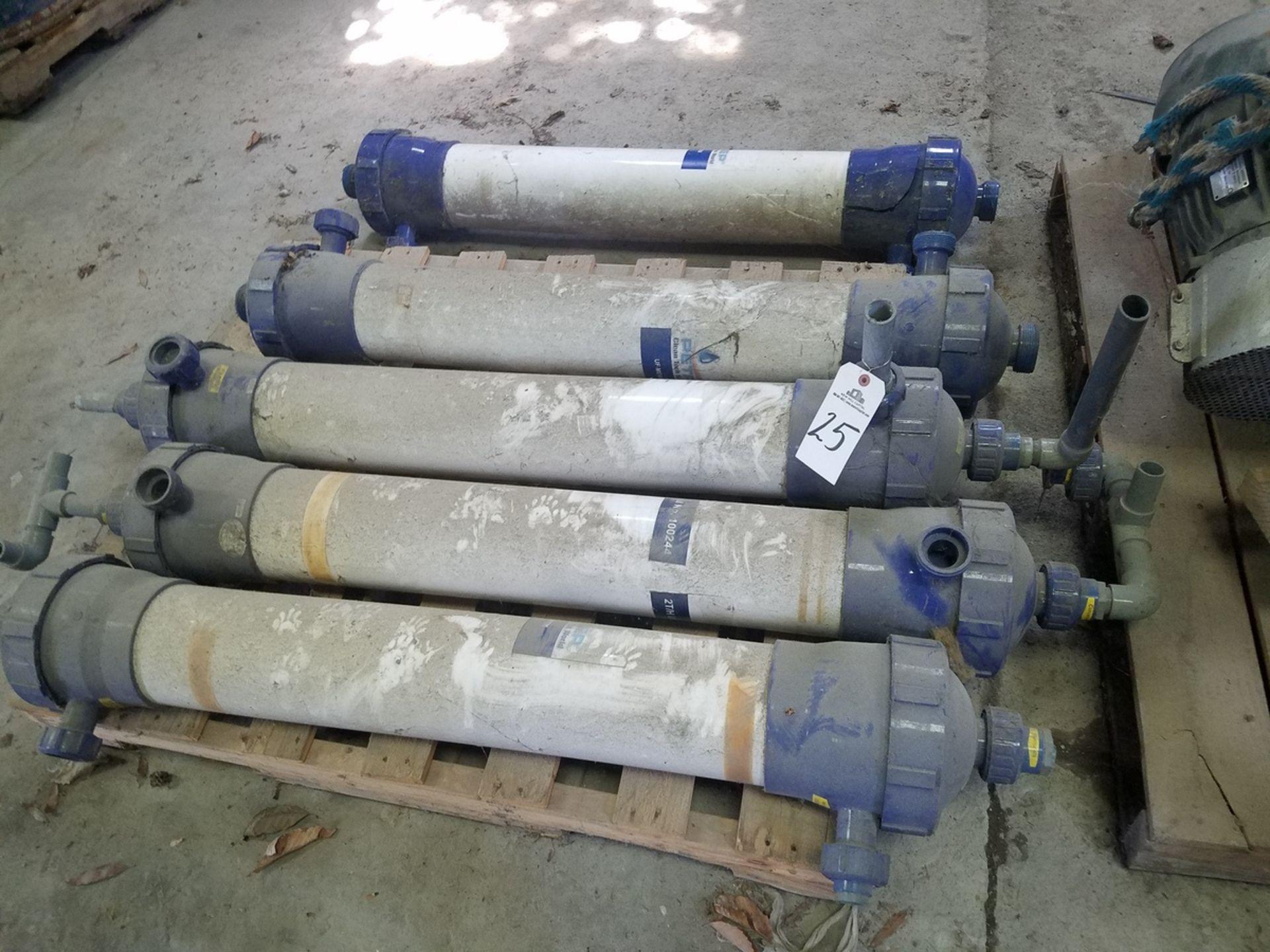 Lot of Aqua-Sep Membrane Filter Modules | Rig Fee: $50