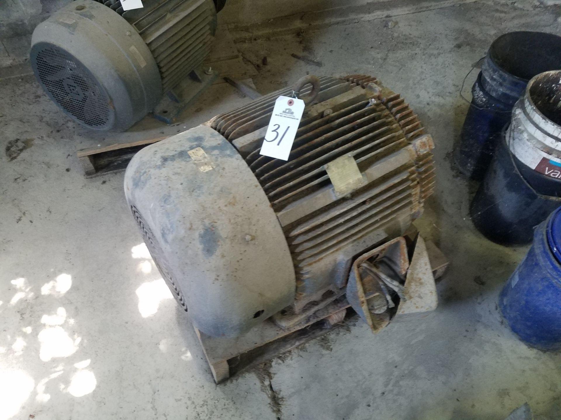 Westinghouse 100 HP Electric Motor | Rig Fee: $50