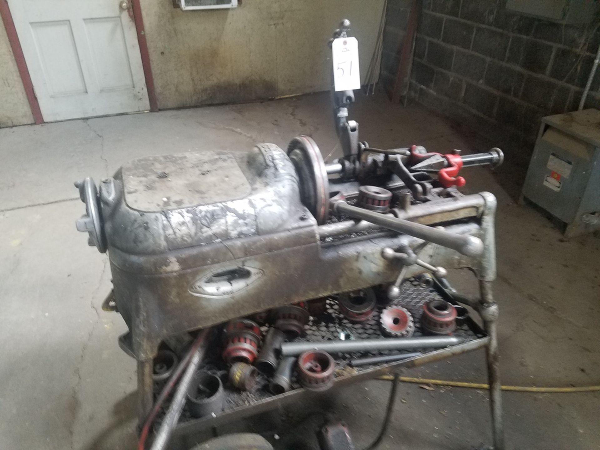 Lot 51 - Ridgid Power Pipe Threader, M# 535 | Rig Fee: $100