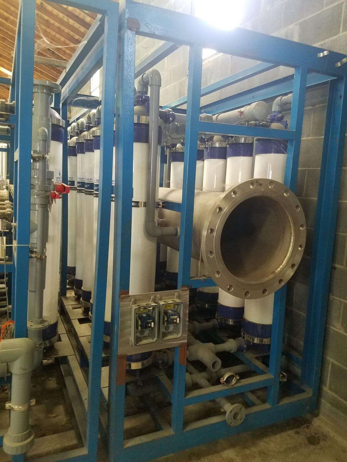 Petro Sep UF Membrane Filtration Skid System, Includes (2) SS Cartridge Filters, | Rig Fee: $1200 - Image 6 of 13