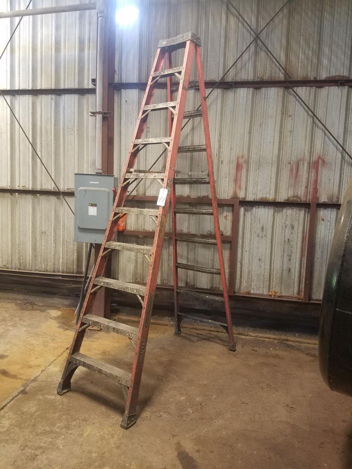 10' Fiberglass Ladder | Rig Fee: $10