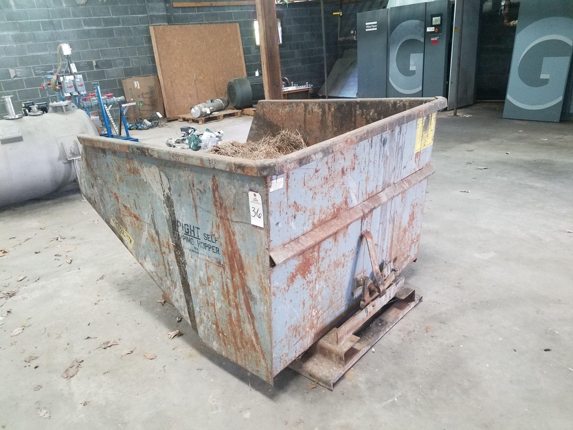2 Yard Dump Hopper | Rig Fee: $50