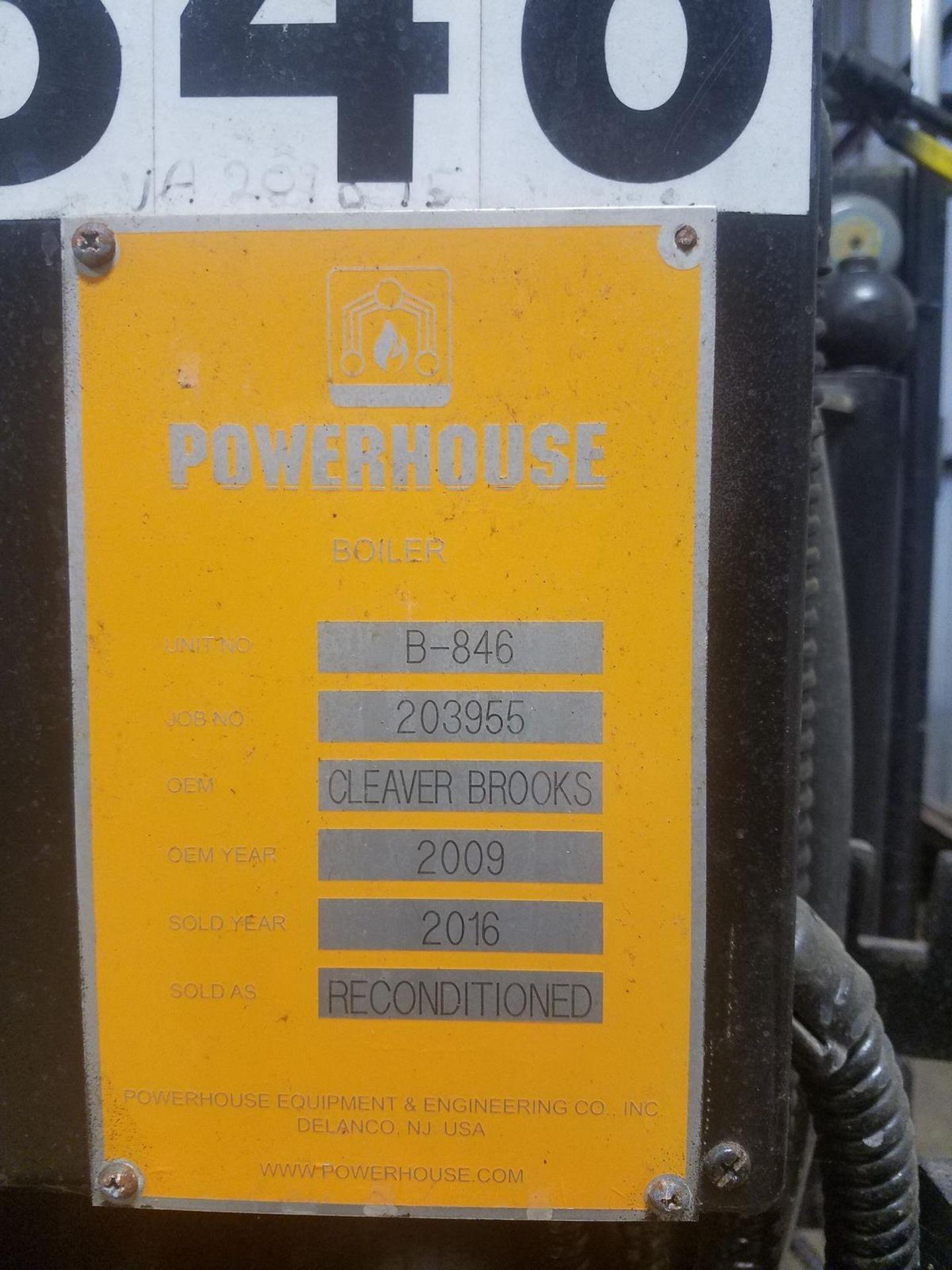 2009 (Rebuilt 2016) 250 HP Cleaver Brooks Boiler, 8.9 mmBTU, M# CB-200-250S-250, | Rig Fee: $5000 - Image 3 of 7