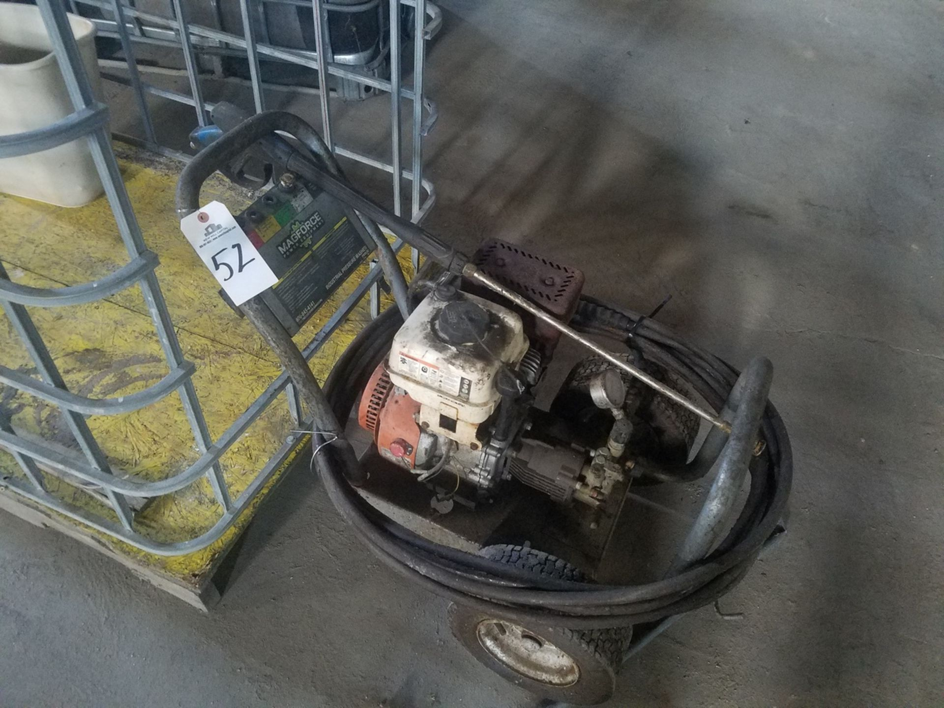 Magforce Industrial Pressure Washer   Rig Fee: $25