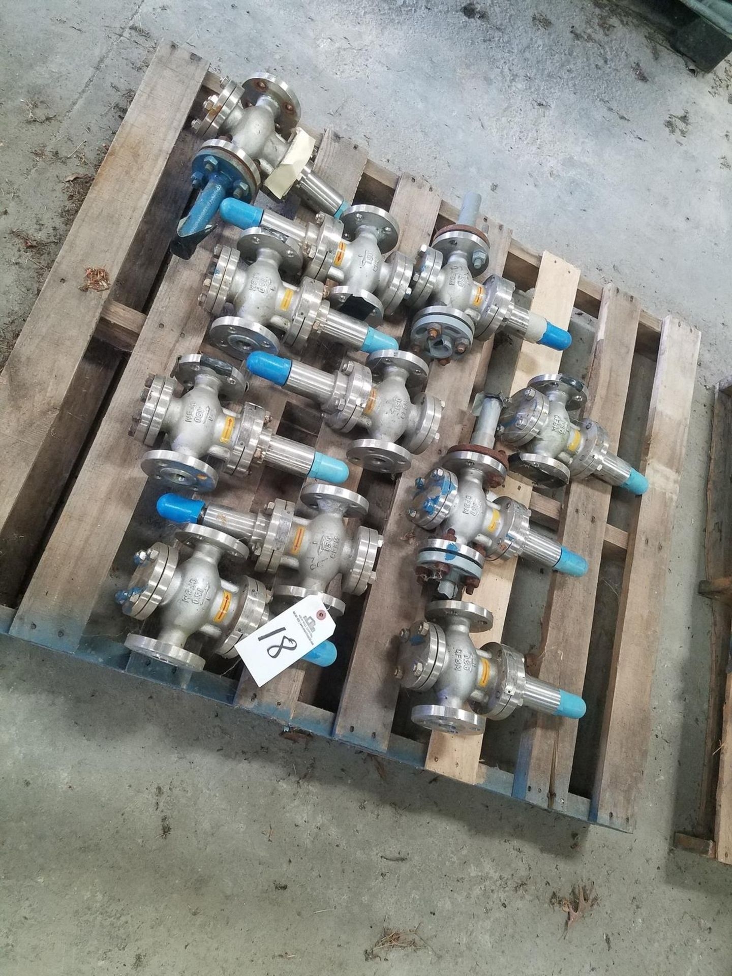 Lot 18 - Lot of Shield Mfg. Stainless Steel Blow-Off Valves | Rig Fee: $50