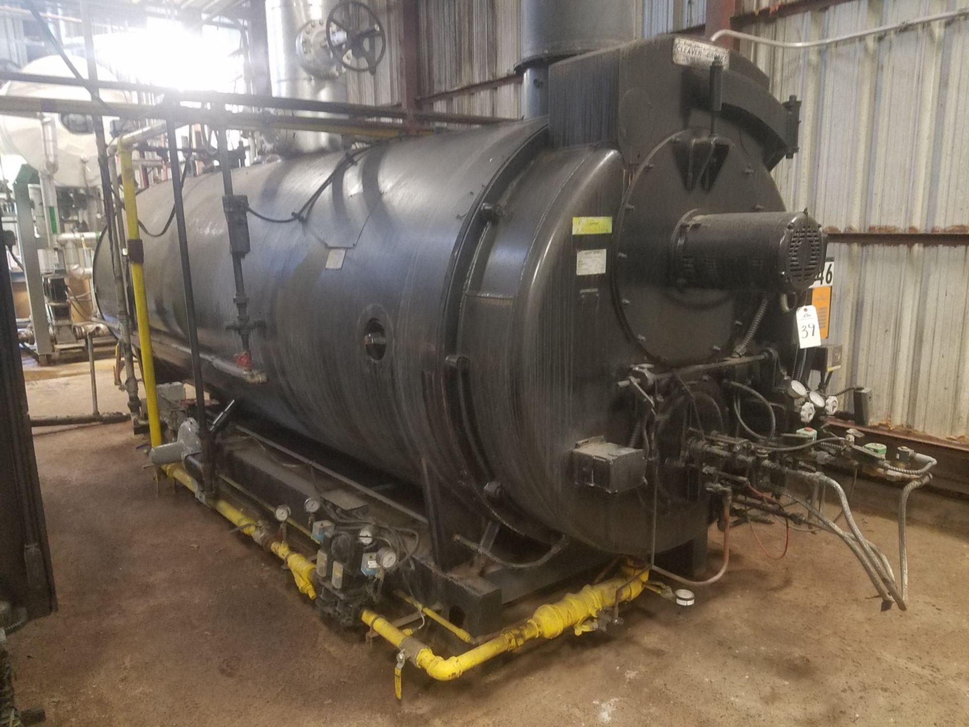 2009 (Rebuilt 2016) 250 HP Cleaver Brooks Boiler, 8.9 mmBTU, M# CB-200-250S-250, | Rig Fee: $5000