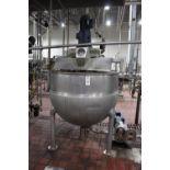 Hamilton 250 Gallon Scrape Surface Jacketed Kettle, Scrape Surface, | Subj to Bulk | Rig Fee: $450