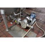 Waukesha M# 130 Positive Displacement Pump Skid, S/N 10668 SS | Subj to Bulk | Rig Fee: $125