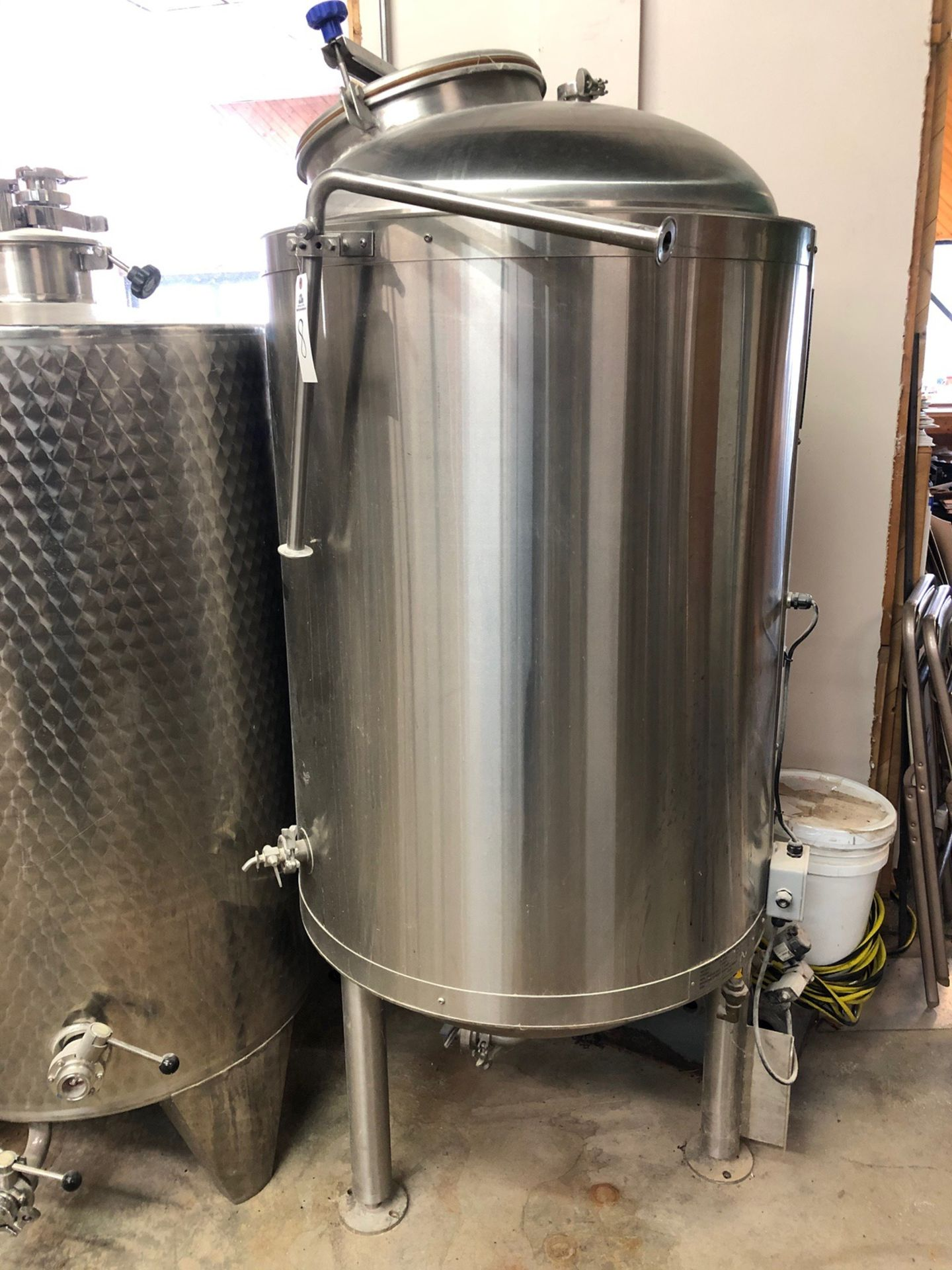 Lot 8 - 2008 Price-Schonstrom Stainless Steel Jacketed Tank, MAWP of Jacket: | Sub to Bulk | Rig Fee: $200