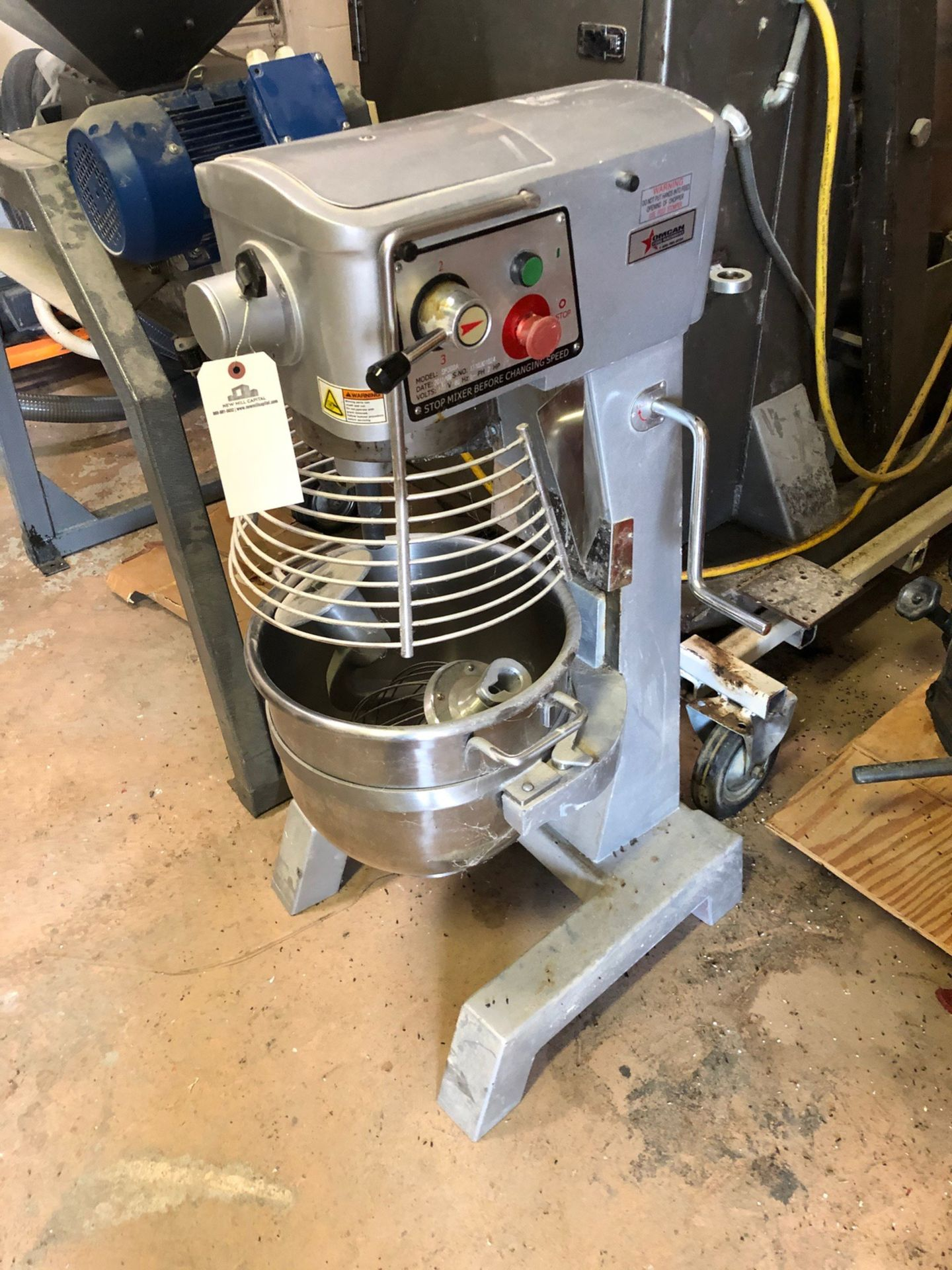 Lot 84 - OmCan Food Machinery Mixer | Rig Fee: $75