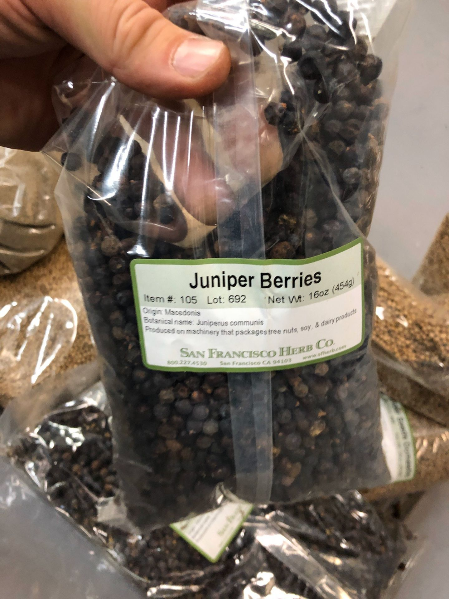 Lot 113 - Lot of Herbs and Botanicals: Basil Leaf, Coriander Seed, Citrus Reticulata Peel   Rig Fee: $20 or HC