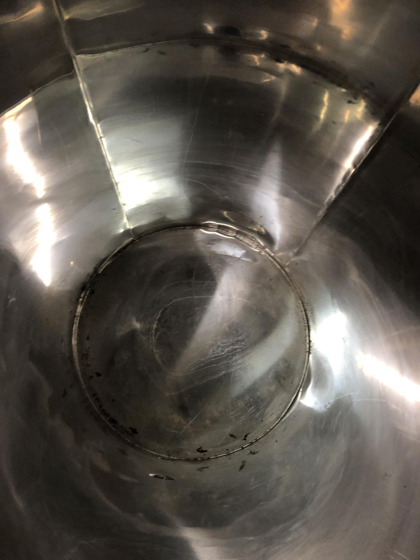 Lot 13D - Approx 75 Gallon Polished Stainless Steel Holding Tank | Sub to Bulk | Rig Fee: $35