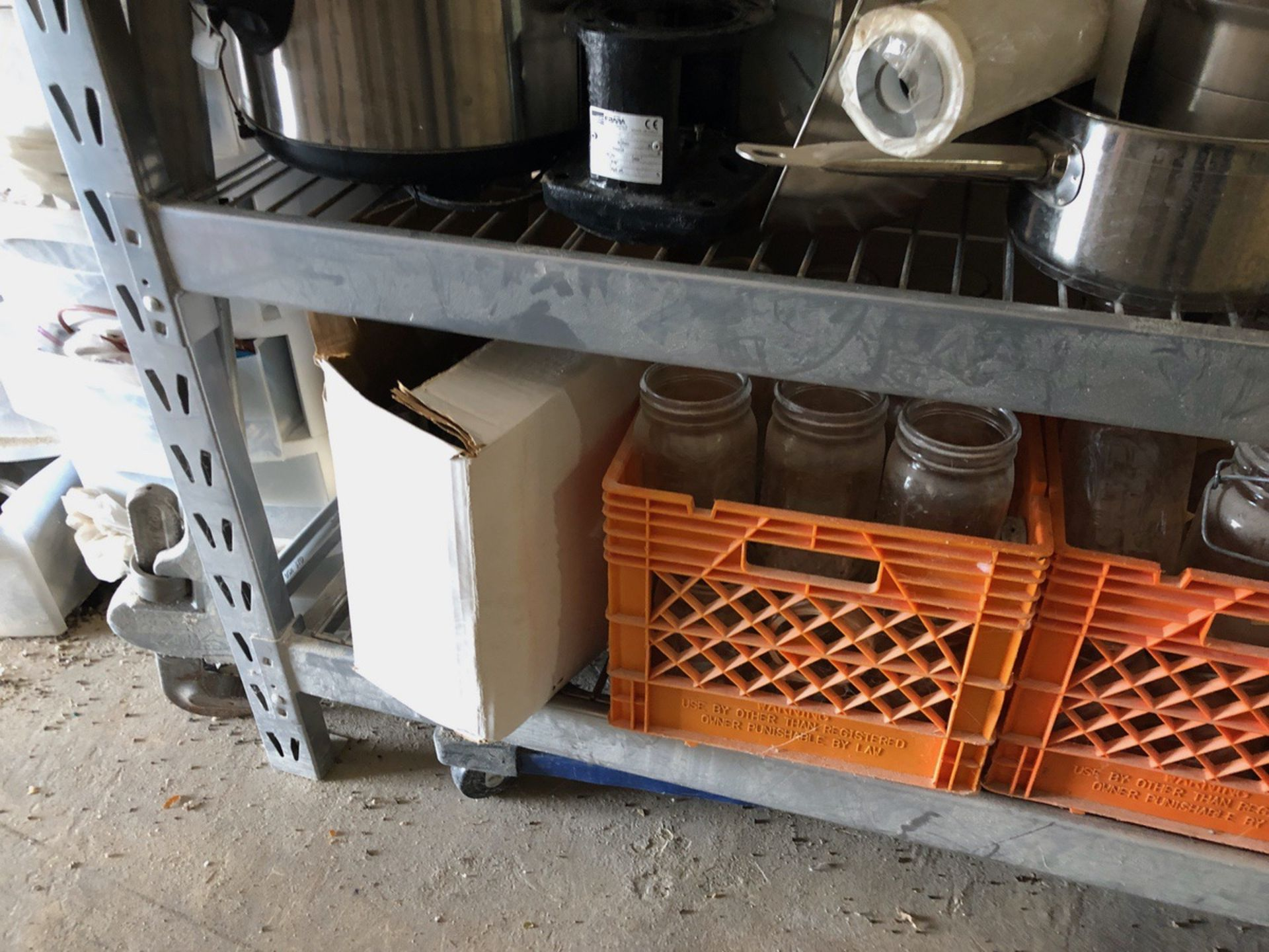 Lot 80 - Rack and Contents | Rig Fee: $150