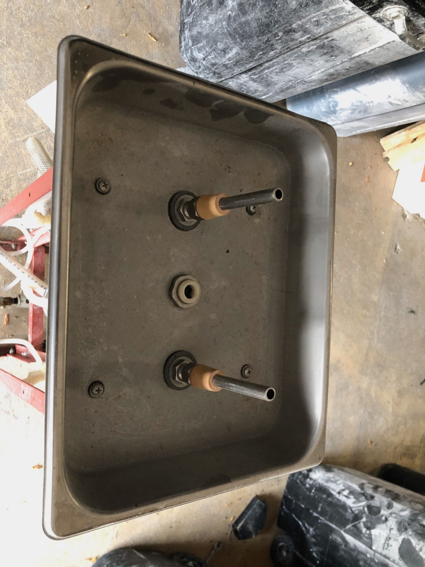 Lot 21B - Floor Mounted Bottle Washer | Sub to Bulk | Rig Fee: $50 or HC