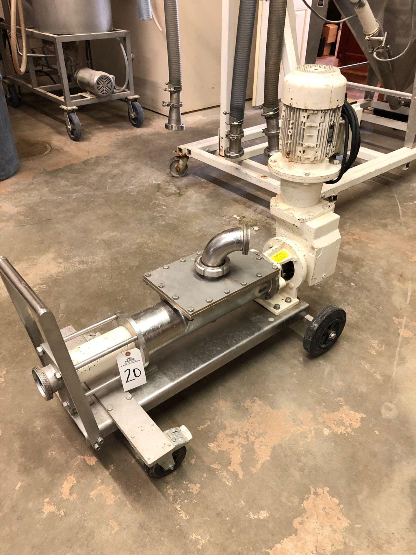 Lot 20 - Mash Screw Displacement Pump, 3KW, 330/400V @ 60Hz | Sub to Bulk | Rig Fee: $75