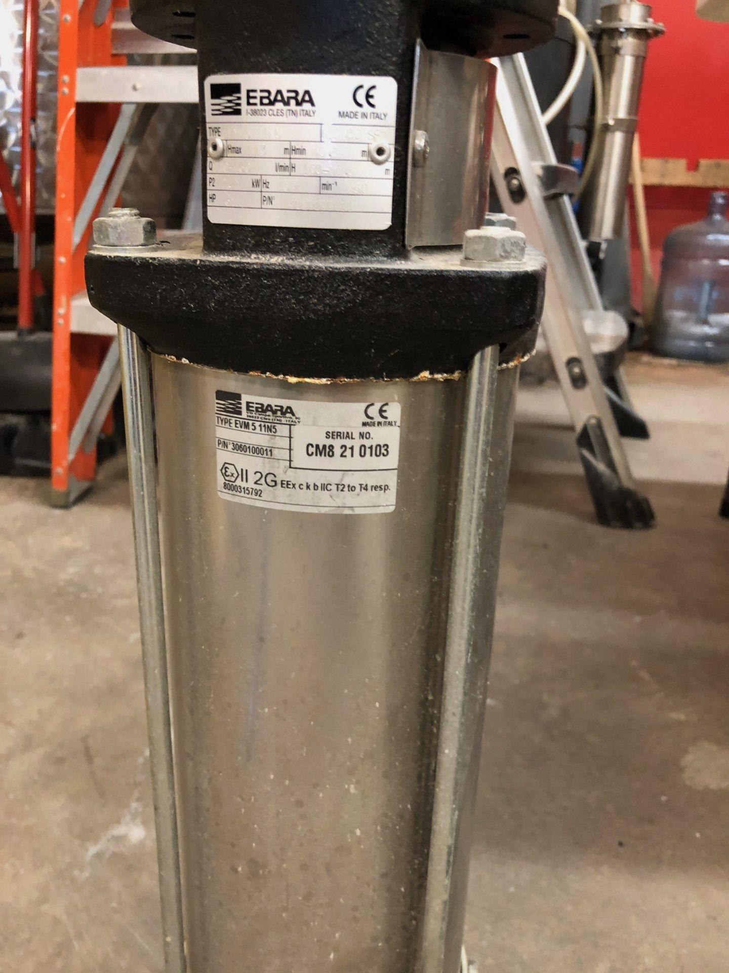 Lot 20C - (2) Ebara Pumps (Vertical) | Sub to Bulk | Rig Fee: $50