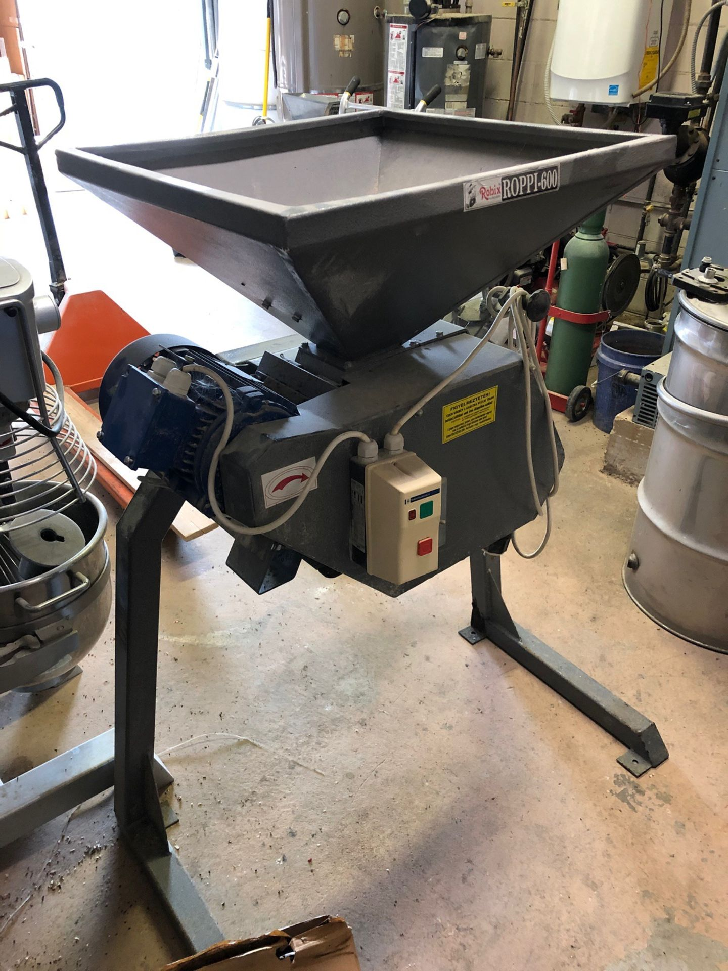 Lot 23A - Robix Roppi-600 Malt Mill, 1HP | Sub to Bulk | Rig Fee: $75