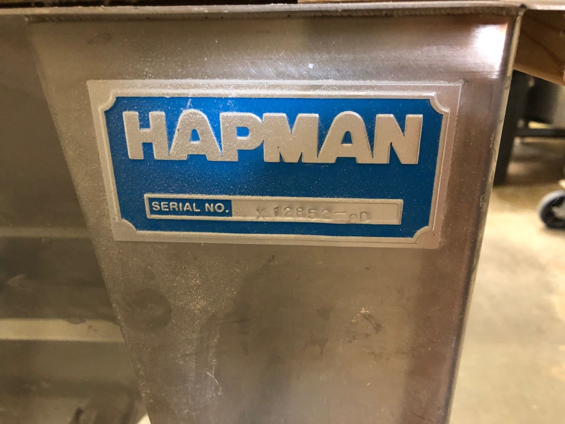 Lot 24 - Hapman Grain Hopper with Pipe Auger | Sub to Bulk | Rig Fee: $200