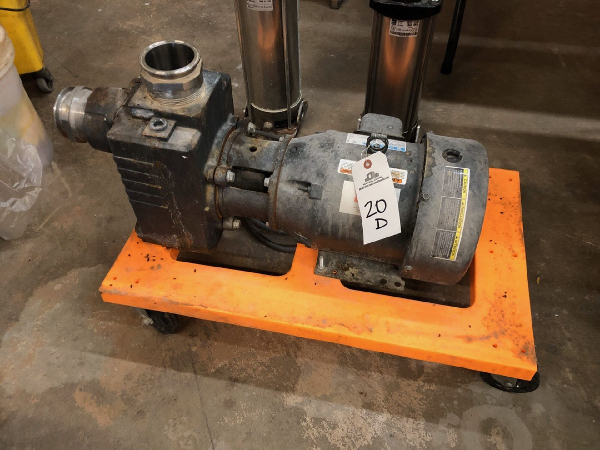 Lot 20D - Teel 3P705 Self Priming Centrigual Transfer Pump, 2HP | Sub to Bulk | Rig Fee: $75