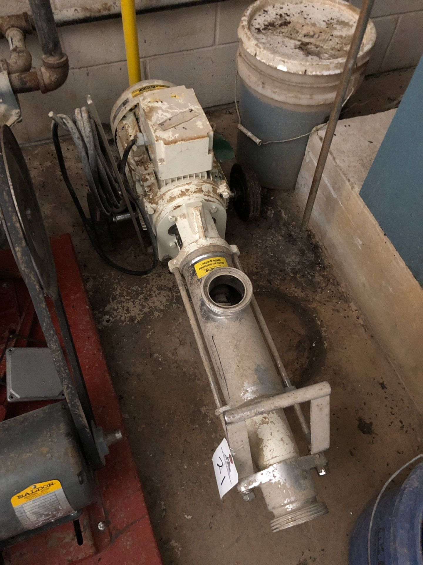 Lot 21 - Screw Displacement Pump | Sub to Bulk | Rig Fee: $50