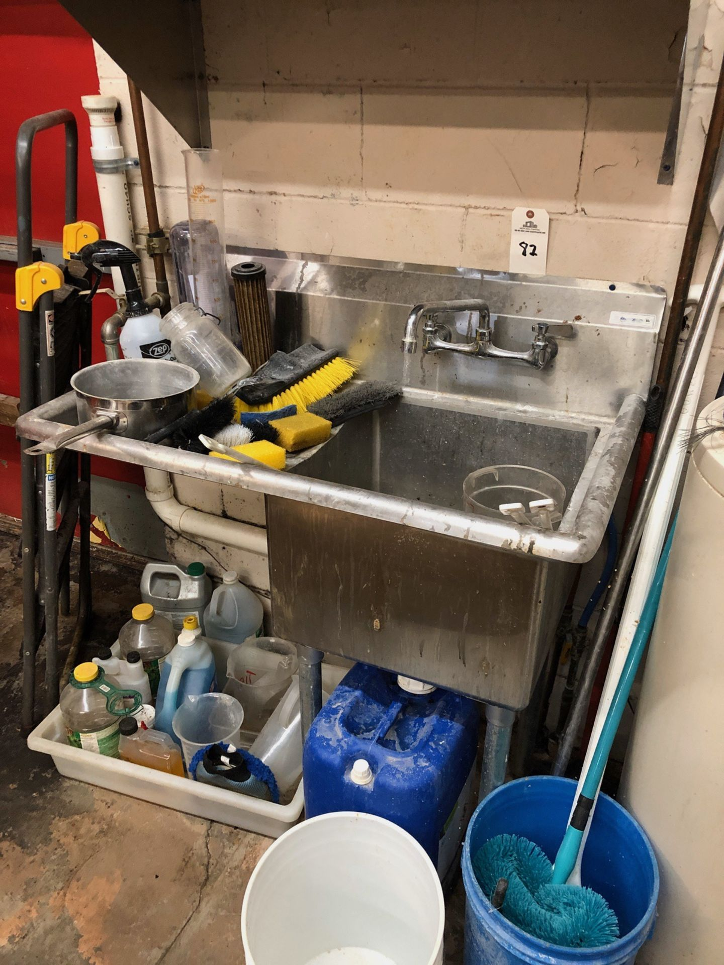Lot 82 - Stainless Steel Sink | Rig Fee: $100