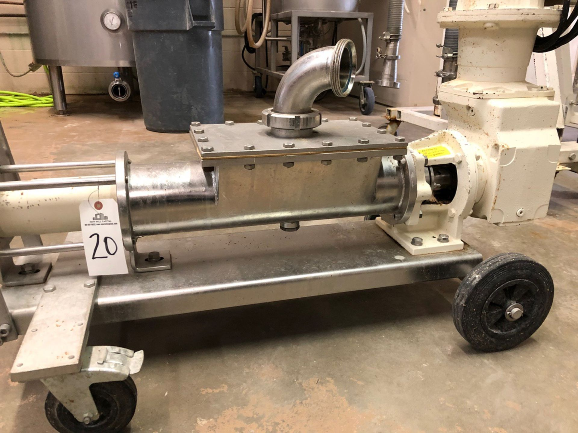 Lot 20 - Mash Screw Displacement Pump, 3KW, 330/400V @ 60Hz | Sub to Bulk | Rig Fee: $75