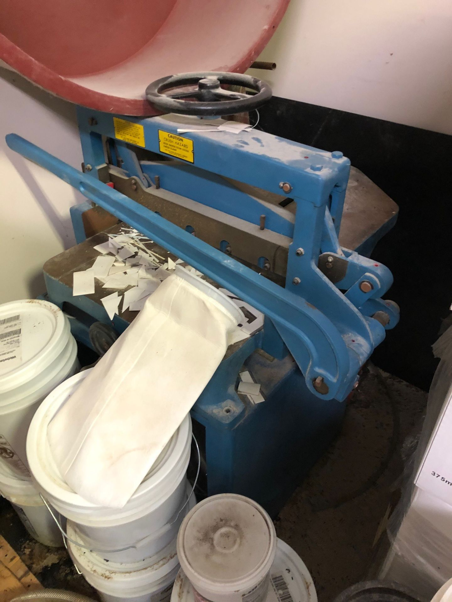 Lot 86 - Challenge Machinery Paper Cutter   Rig Fee: $100