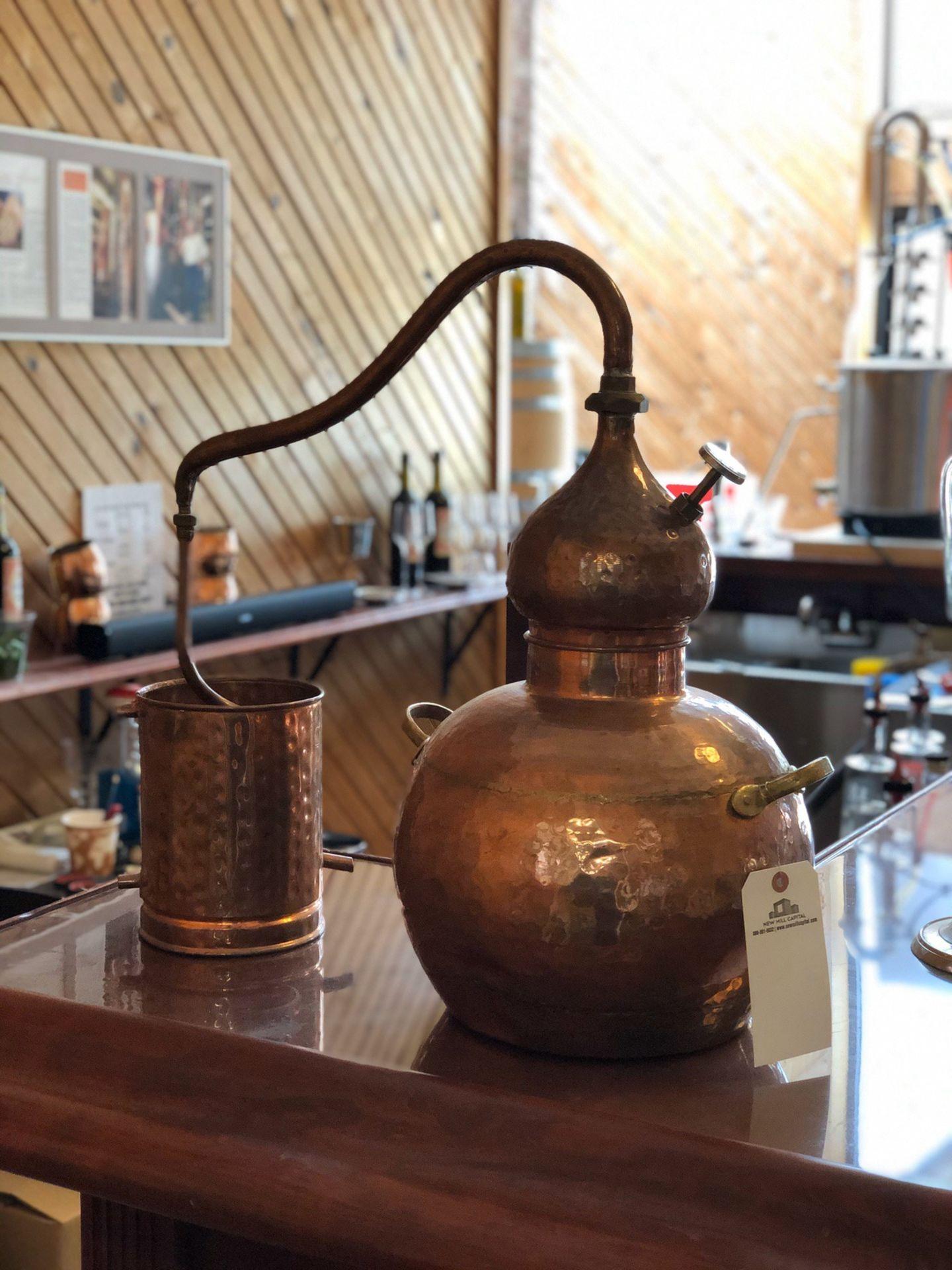 Lot 51 - Copper Display Still | Rig Fee: $50 or HC