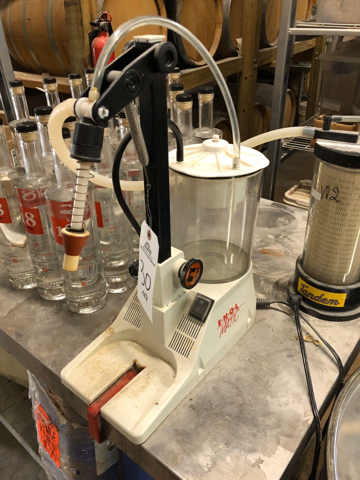 Lot 30 - (2) Enol Matic Bottle Fillers | Sub to Bulk | Rig Fee: $30 or HC