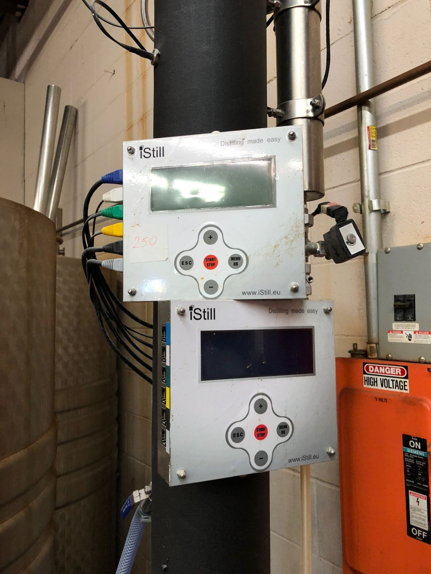 Lot 14 - 2008 iStill 250L Automated Still, Digital Controls, S/N: 2502013018 | Sub to Bulk | Rig Fee: $200