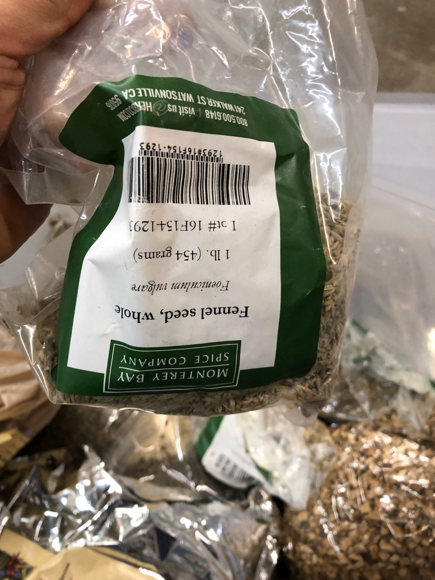 Lot 112 - Lot of Herbs and Botanicals: Speedwell Herb, Wormwood, Lemon Balm, Calmus Root, | Rig Fee: $20 or HC