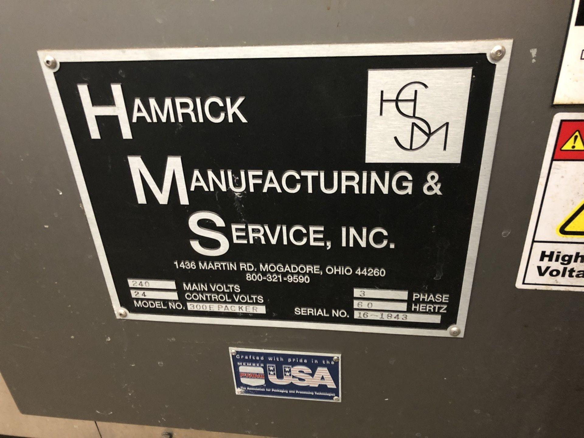 Lot 56 - 2016 Hamrick Model 300E Drop Packer, 12oz - 12 Pack / 24 Pack, 22oz | Sub to Bulk | Rig Fee: $1000