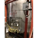 Santa Rosa 200 BBL Brite Tank, Dish Bottom, Dome Top, Glycol Jacketed, Stainless St | Rig Fee: $3300