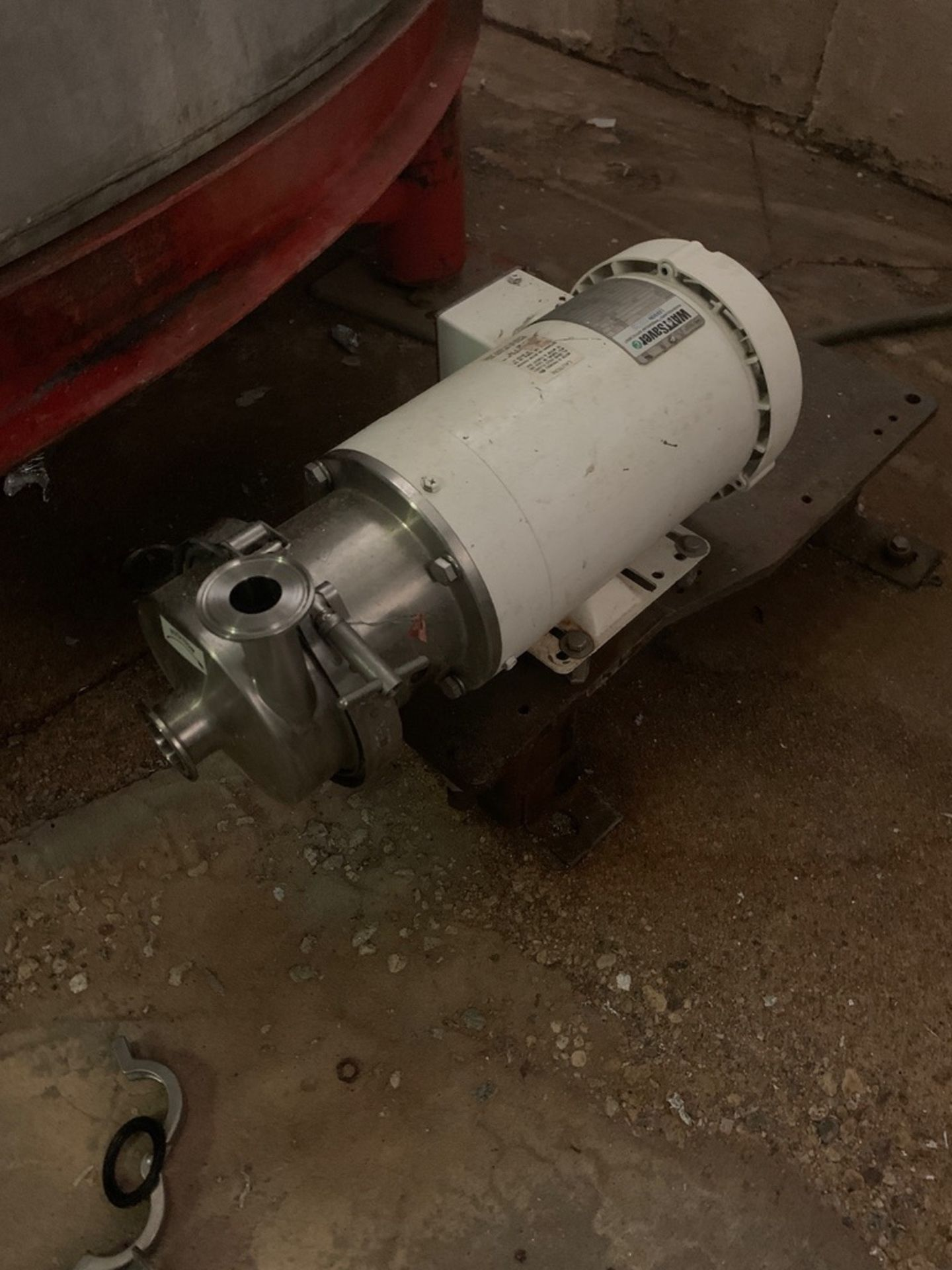 Lot 57A - Stainless Steel Centrifugal Pump, 3 HP | Rig Fee: $75