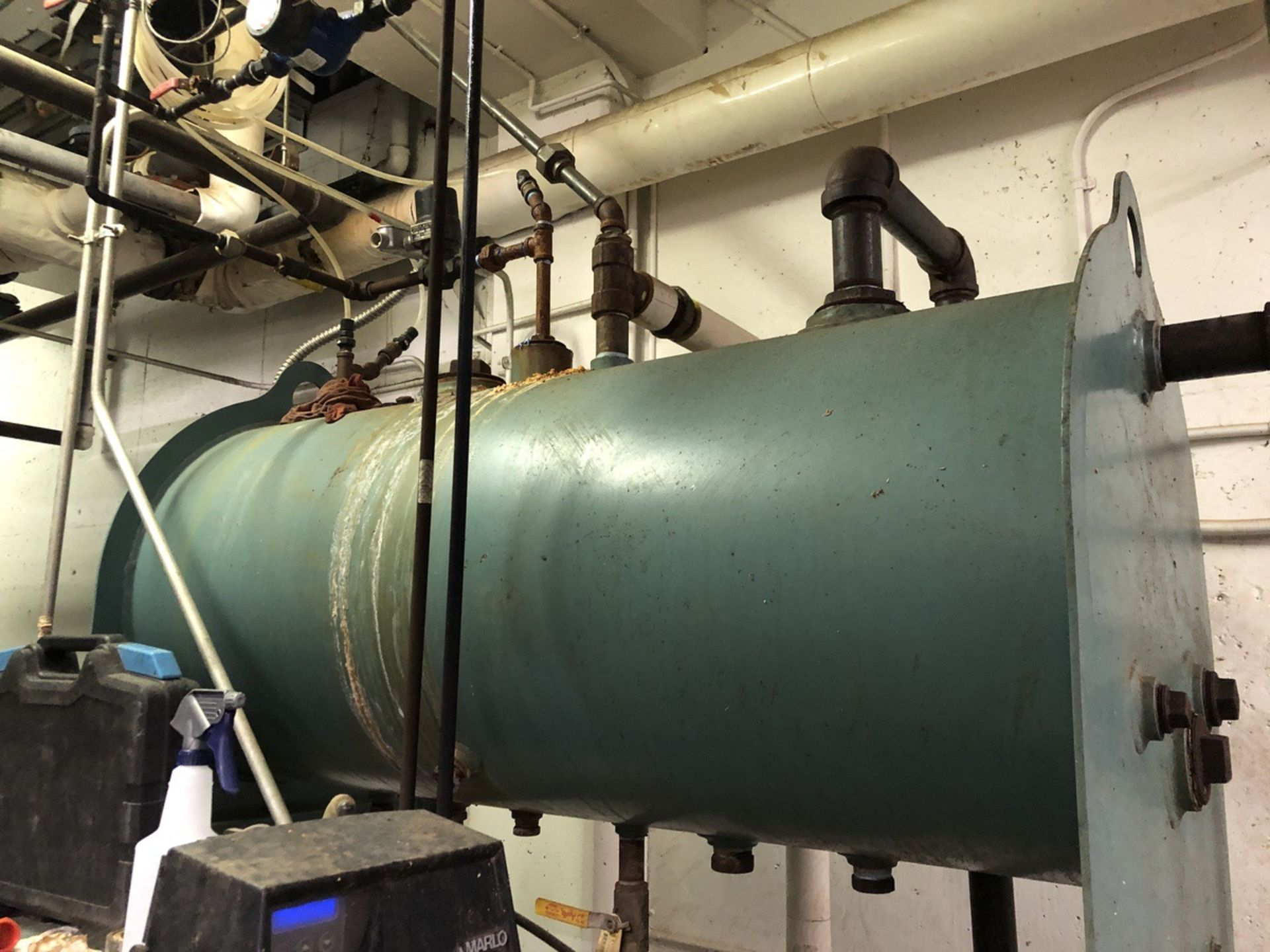 Lot 36 - 2013 Cleaver Brooks Model FLX-700-400-150ST Boiler, S/N: 07162-1-1   Rig Fee: $1500