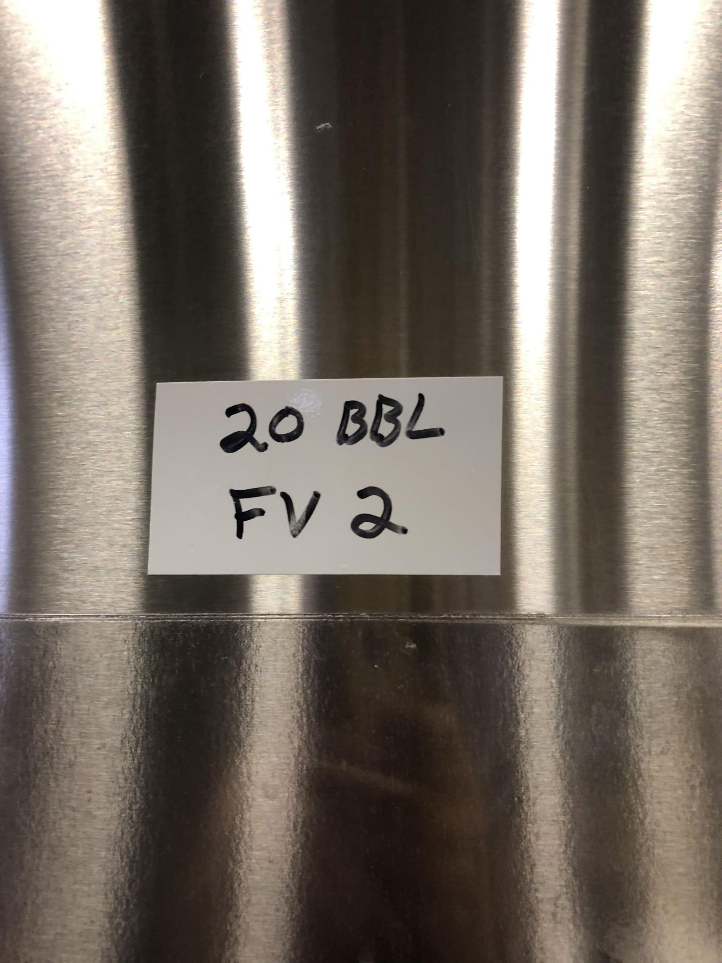 Lot 1 - 2016 Practical Fusion 20 BBL Uni-Tank Fermenter, 3-Zone Dimple Glyc | Loc: Golden CO | Rig Fee: $800