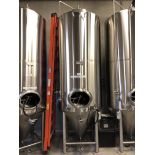 2016 Practical Fusion 20 BBL Uni-Tank Fermenter, 3-Zone Dimple Glyc | Loc: Golden CO | Rig Fee: $800