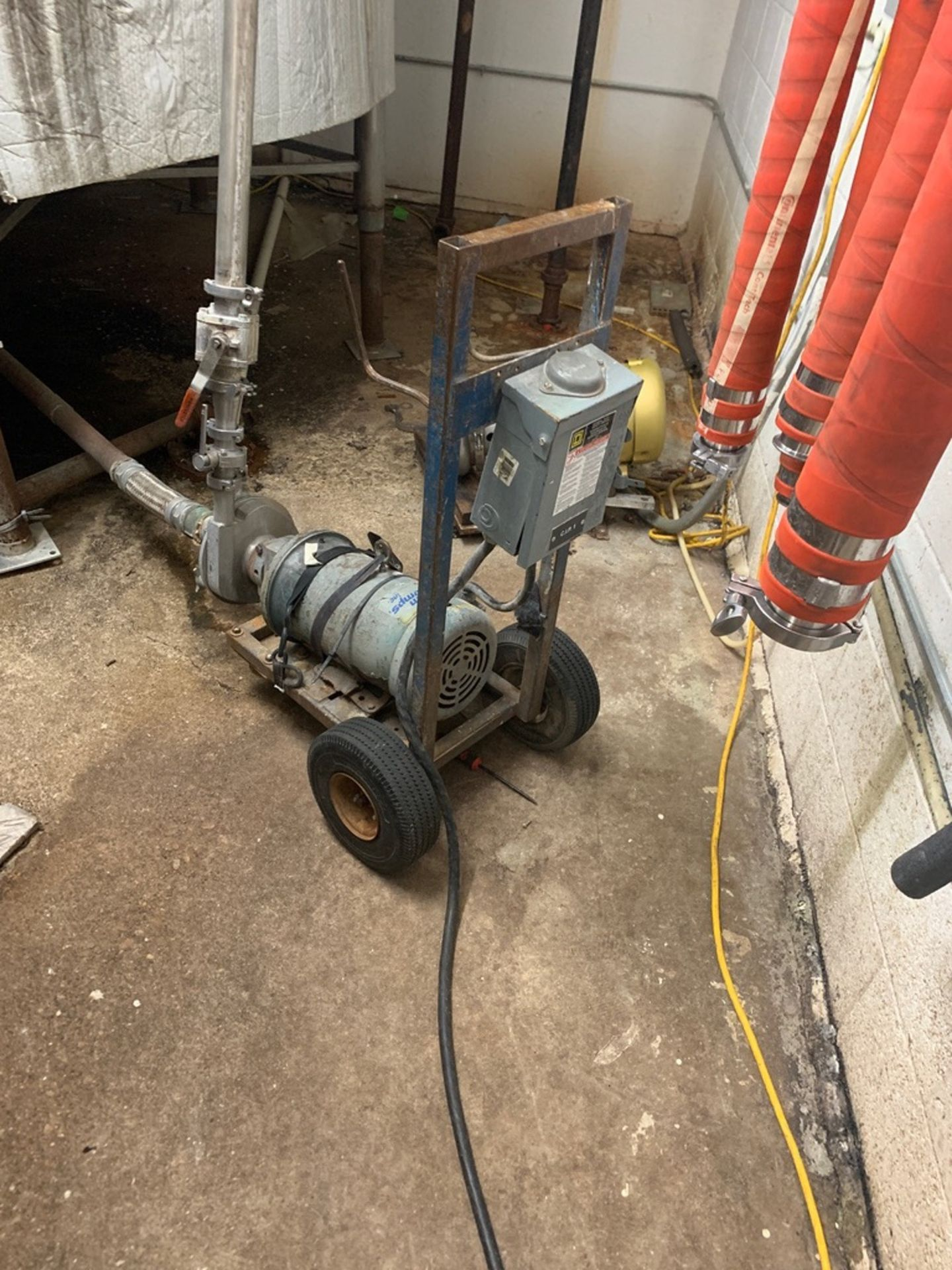 Lot 57C - CIP Pump, Centrifugal, Stainless Steel | Rig Fee: $25