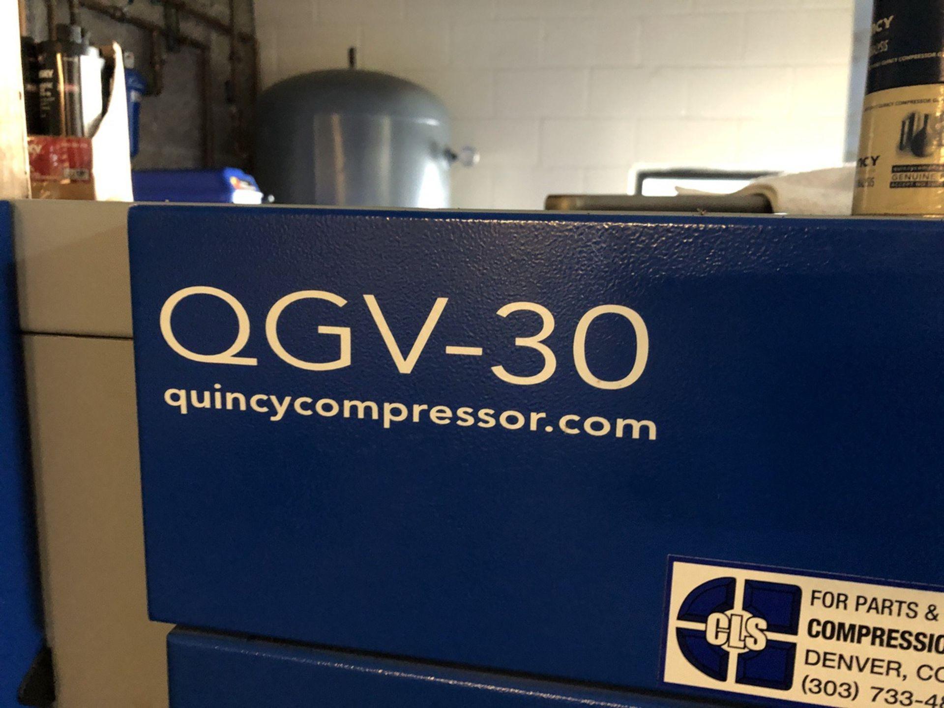 Lot 38 - 2013 Quincy QGV-30 Air Compressor   Rig Fee: $400