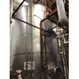 Santa Rosa 200 BBL Fermenter, Cone Bottom, Glycol Jacketed, Stainless Steel, Approx | Rig Fee: $3300