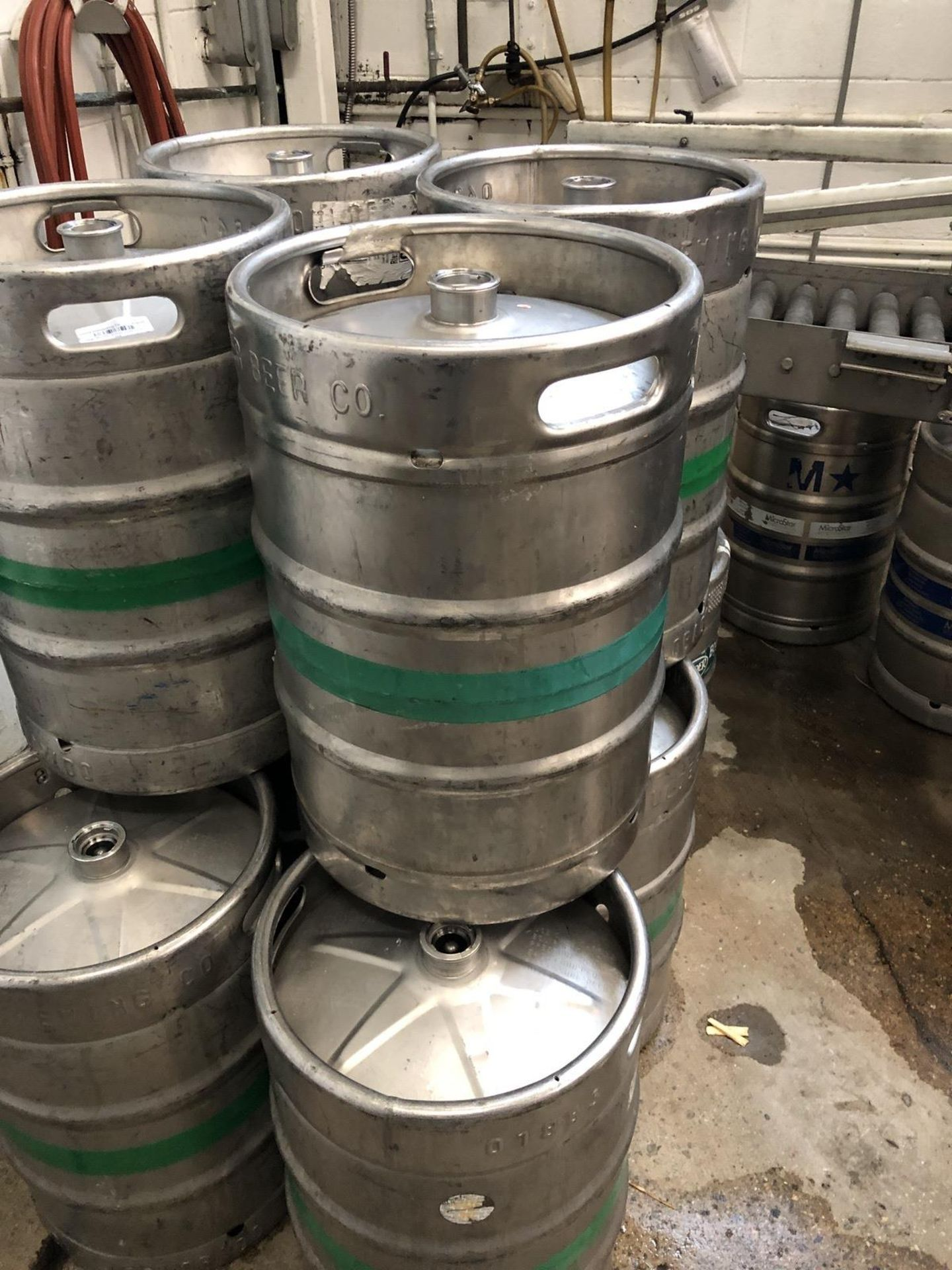 Lot 60 - See Lots 61A through 62J - Approx 1600 Half Barrel Kegs Listed Below - No Bids Accepted on This Lot
