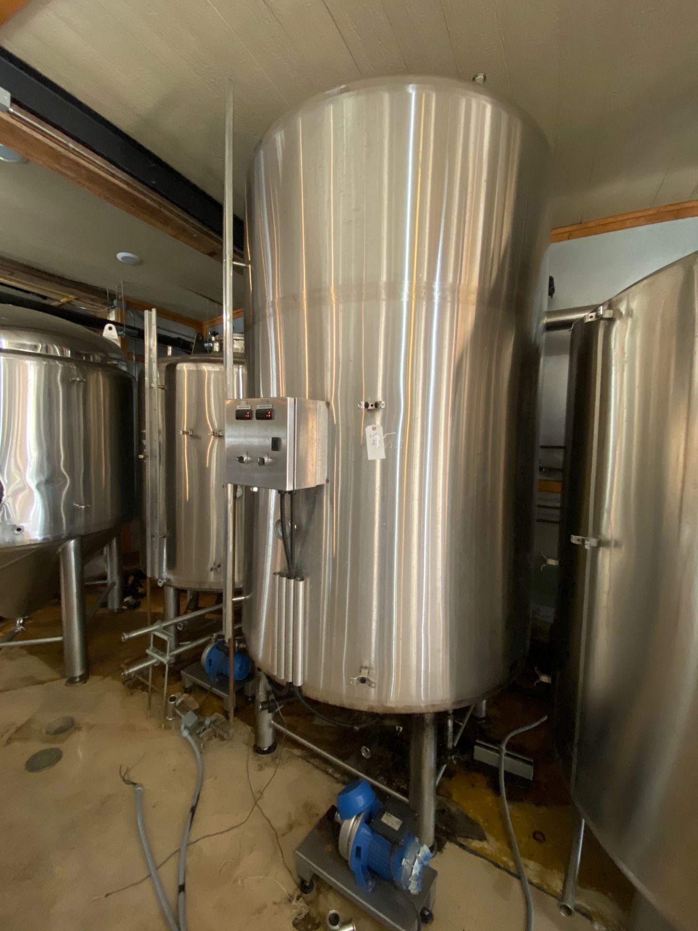 Lot 2 - 2014 Criveller Hot Liquor Tank, Jacketed, Control Panel | Sub to Bulk | Rig Fee: $600