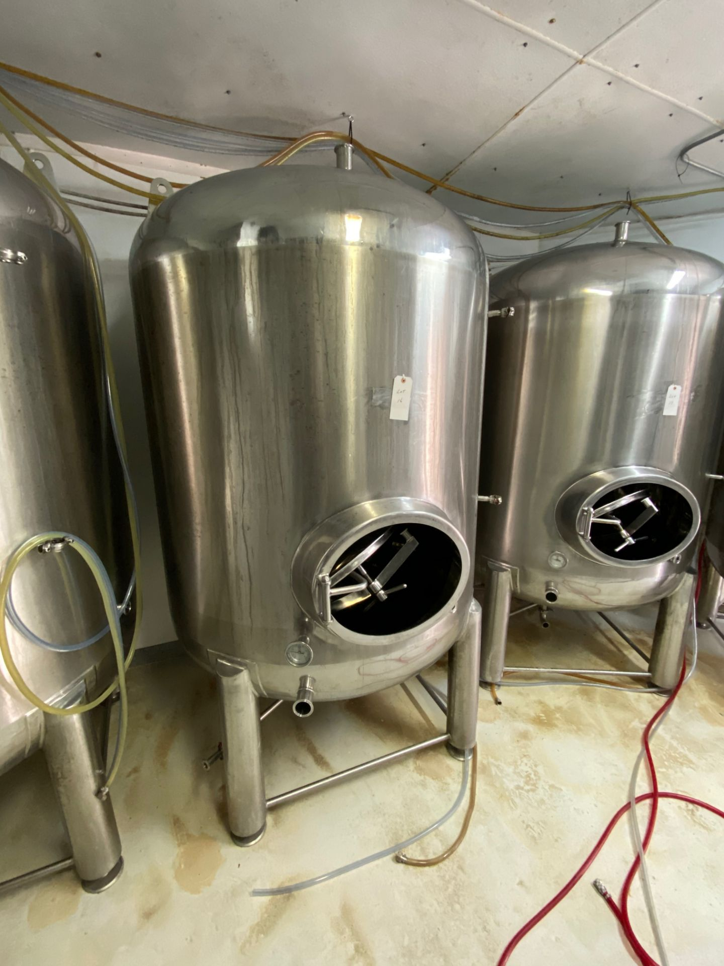 Lot 16 - 2014 Criveller 20 BBL Brite Tank, 304 Stainless Steel, Single Wall, D | Sub to Bulk | Rig Fee: $350