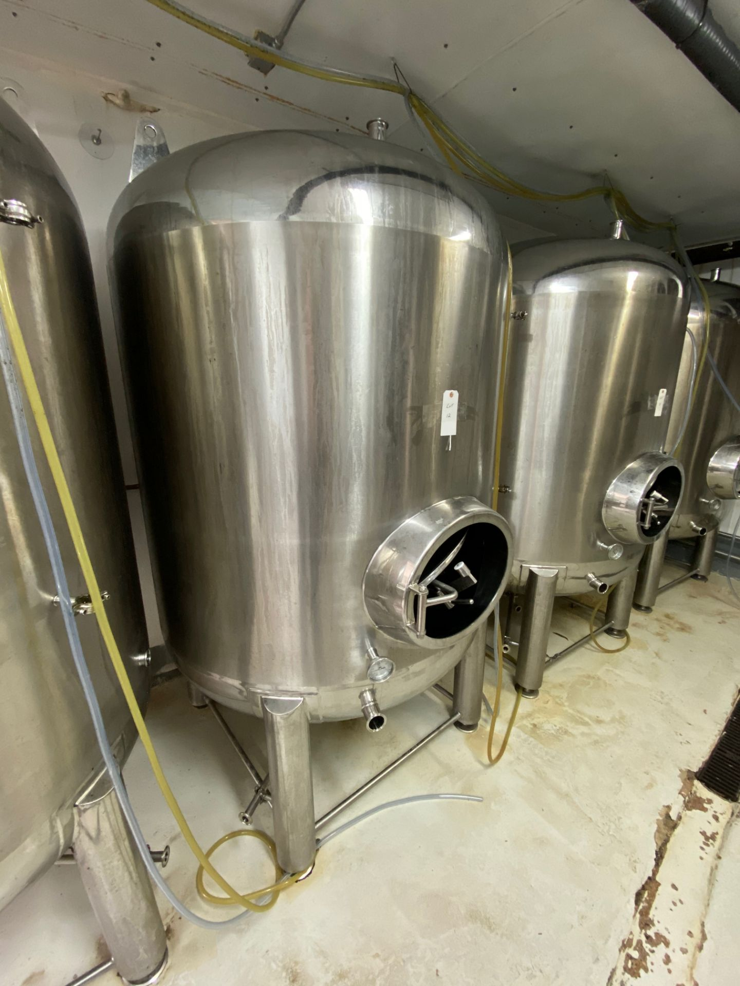 Lot 12 - 2014 Criveller 20 BBL Brite Tank, 304 Stainless Steel, Single Wall, D | Sub to Bulk | Rig Fee: $350
