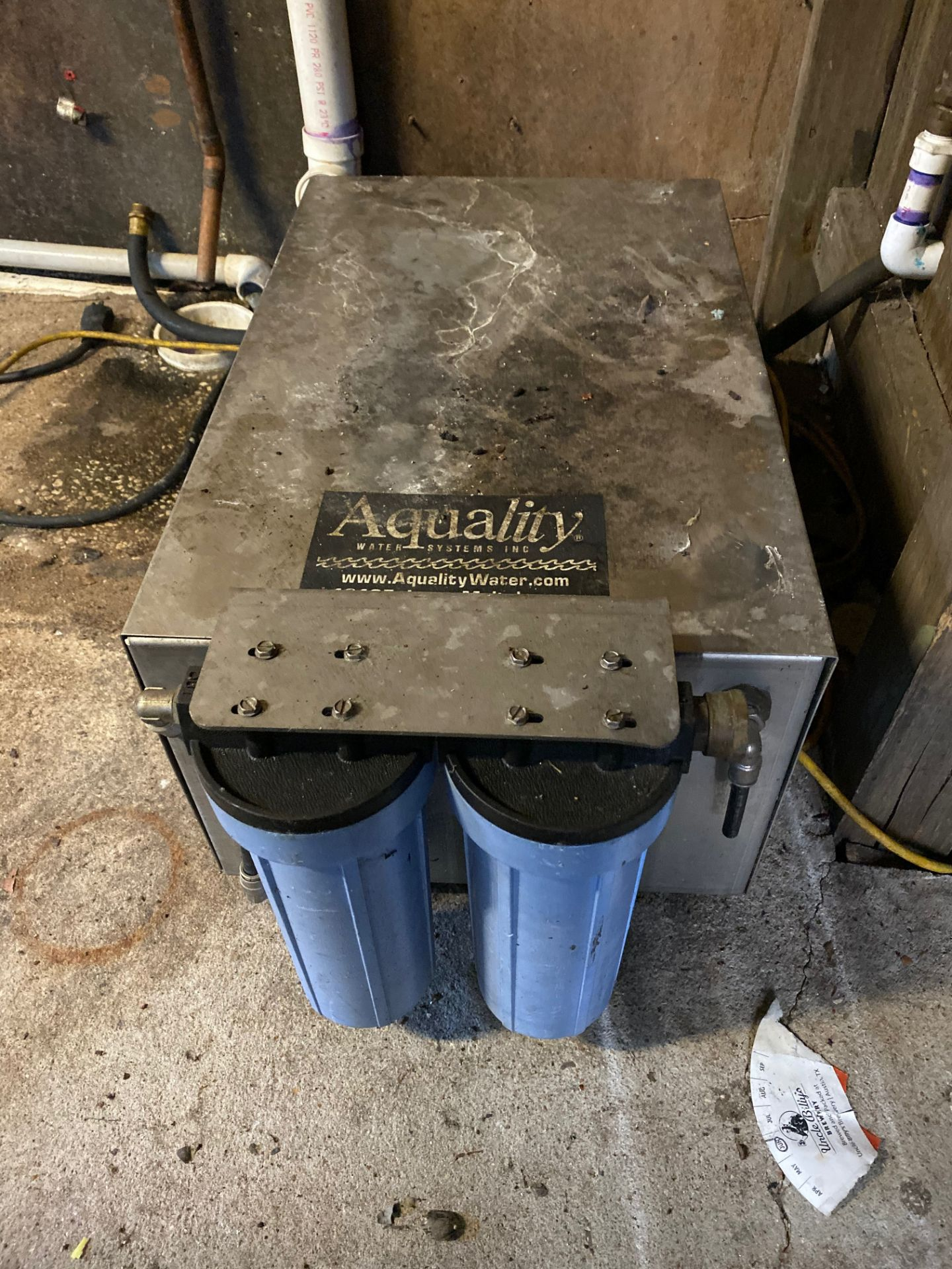 Lot 21 - Aquility Water Purifier | Sub to Bulk | Rig Fee: $50