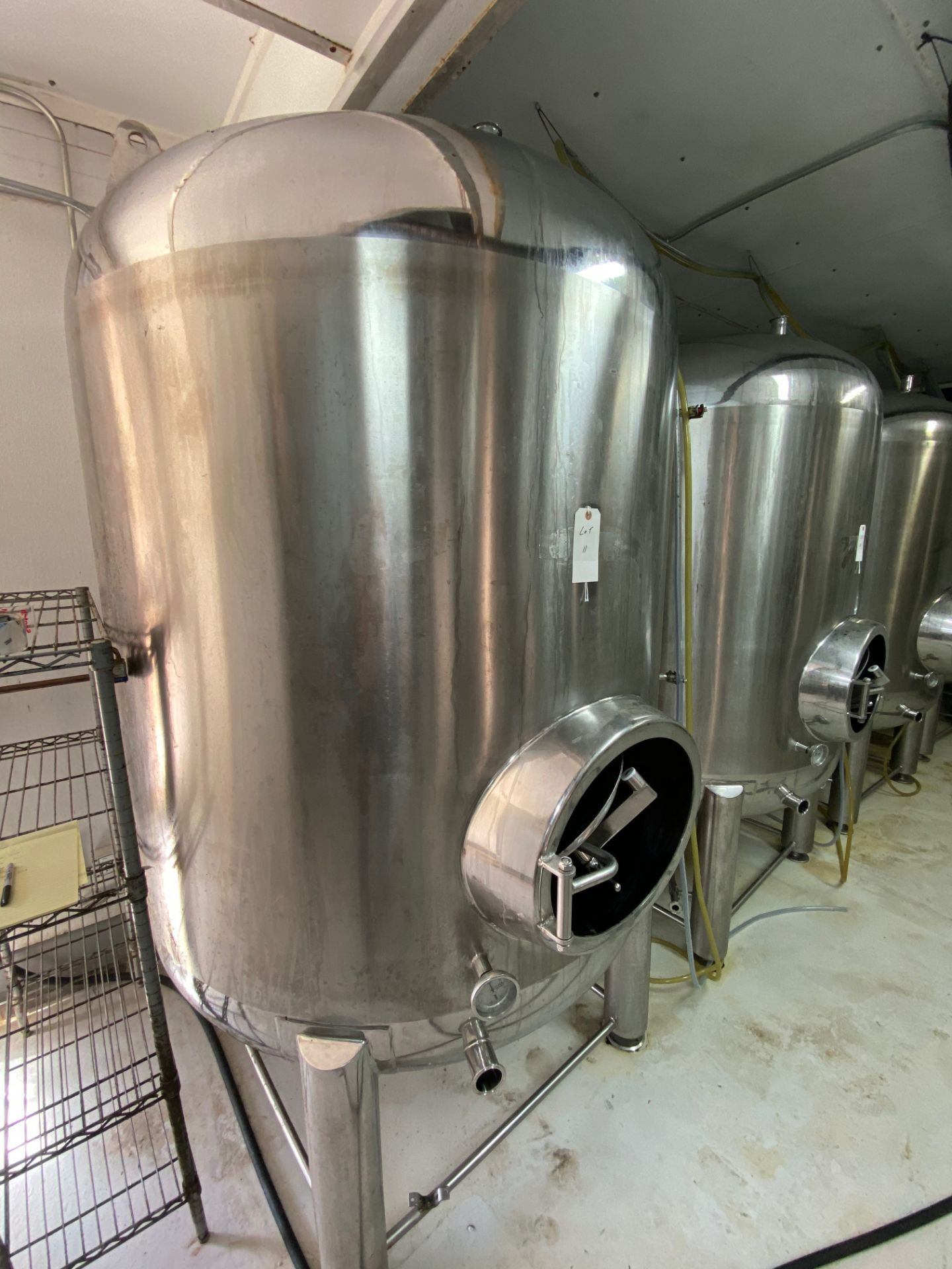 Lot 11 - 2014 Criveller 20 BBL Brite Tank, 304 Stainless Steel, Single Wall, D | Sub to Bulk | Rig Fee: $350