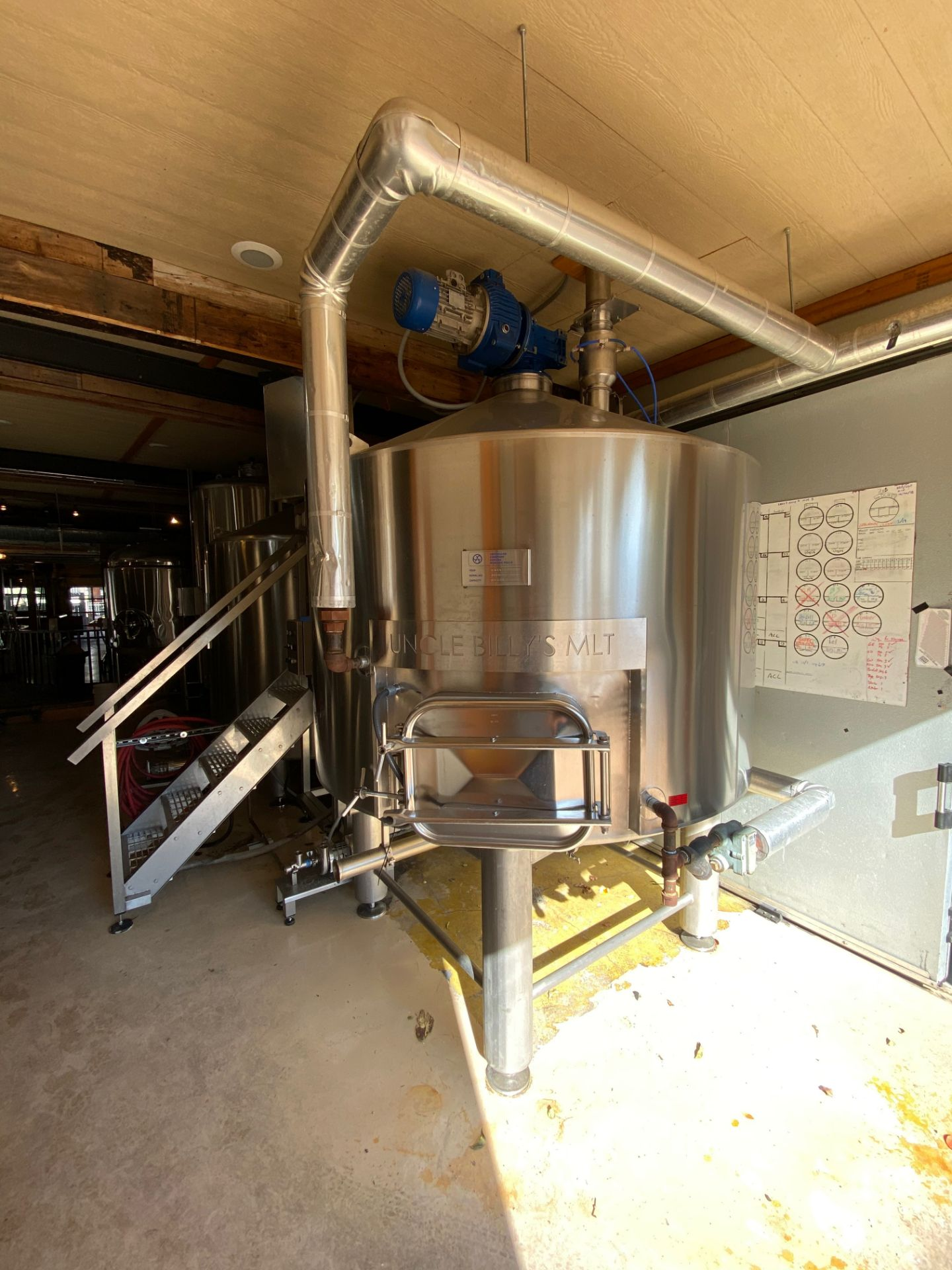 Lot 1 - 2014 Criveller 20 BBL Brewhouse, 2-Vessel System, Jacketed Mash/Laute | Sub to Bulk | Rig Fee: $1500