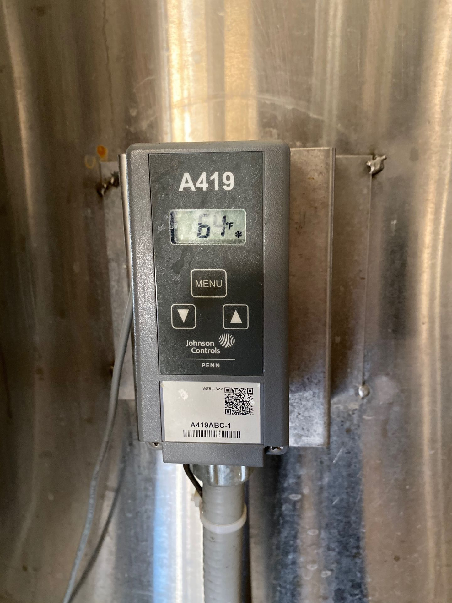 Lot 7 - 2014 Criveller 20 BBL Fermentation Vessel, 304 Stainless Steel, Sidew | Sub to Bulk | Rig Fee: $500